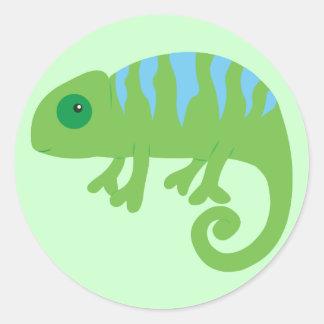 Chameleon Classic Round Sticker