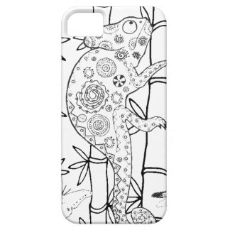 Chameleon Doodle iPhone 5 Cases