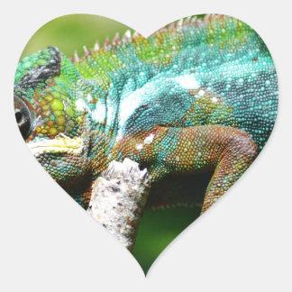 Chameleon Heart Sticker