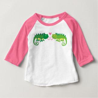 Chameleon Love Baby T-Shirt