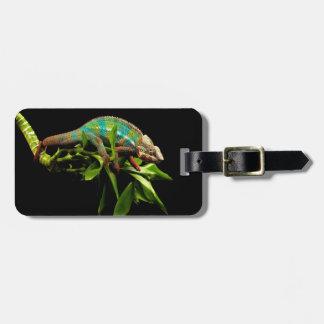 Chameleon Luggage Tag