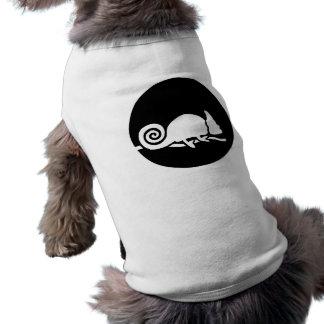 Chameleon moon sleeveless dog shirt