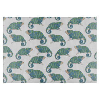 Chameleon Pattern Cutting Board