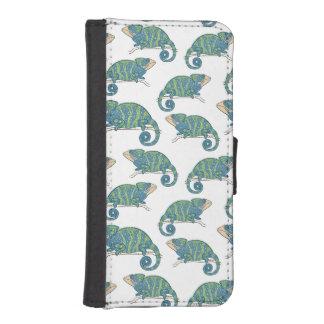 Chameleon Pattern iPhone SE/5/5s Wallet Case