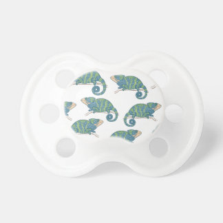 Chameleon Pattern Pacifiers