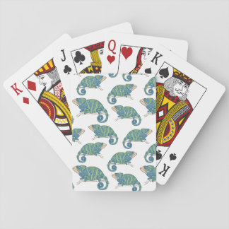 Chameleon Pattern Playing Cards