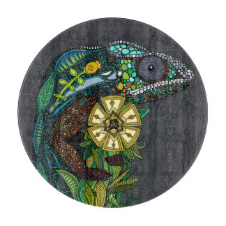 chameleon pewter cutting board