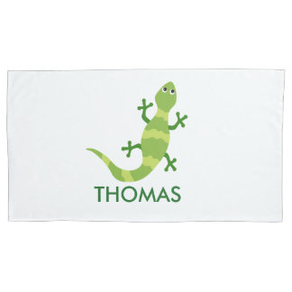 Chameleon Pillow Case Personalized with Name