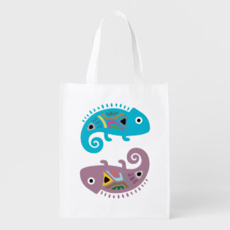 Chameleon Reusable Grocery Bag
