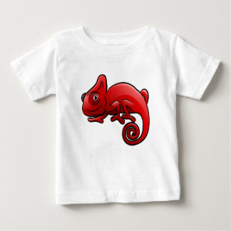 Chameleon Safari Animals Cartoon Character Baby T-Shirt