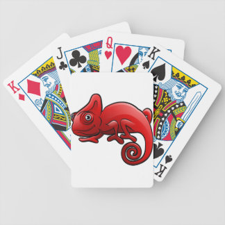 Chameleon Safari Animals Cartoon Character Poker Deck