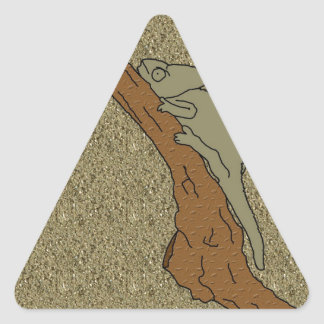 Chameleon Sands Triangle Sticker