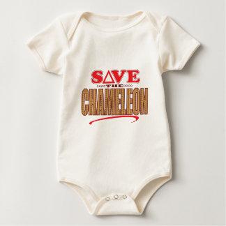 Chameleon Save Baby Bodysuit