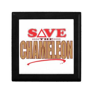 Chameleon Save Gift Box
