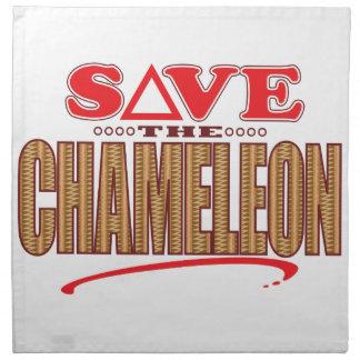 Chameleon Save Napkin