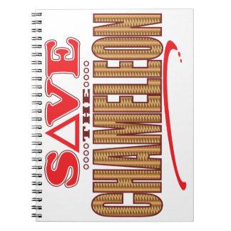 Chameleon Save Notebook