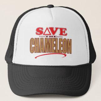 Chameleon Save Trucker Hat