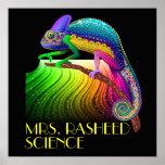 Chameleon / Science Teacher Poster