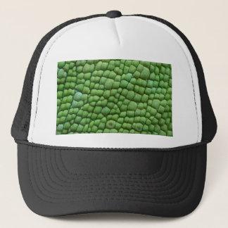 Chameleon skin design trucker hat