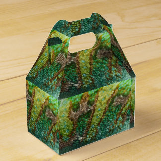 Chameleon Skin Texture Template Favour Box