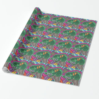 chameleon wrapping paper