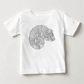 Chameleon Zendoodle Baby T-Shirt