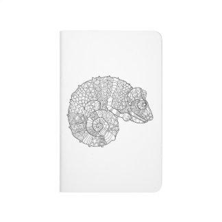Chameleon Zendoodle Journal