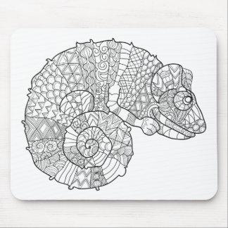 Chameleon Zendoodle Mouse Mat
