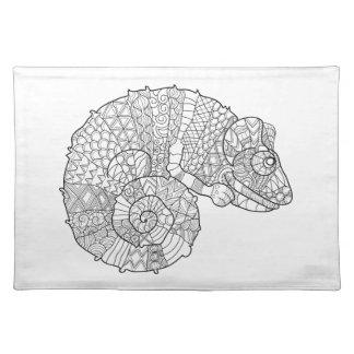 Chameleon Zendoodle Placemat