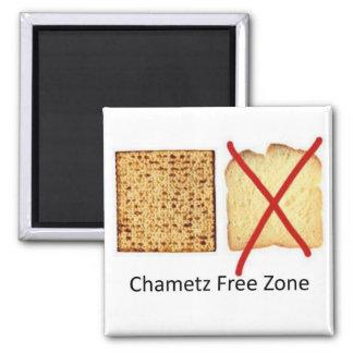 Chametz Free Zone Square Magnet