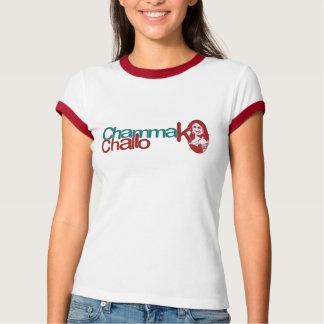 Chammak Challo Beautiful Girl in Hindi T-Shirt