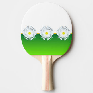 Chamomile Flower Ping Pong Paddle