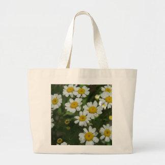 Chamomile Flowers Jumbo Tote Bag