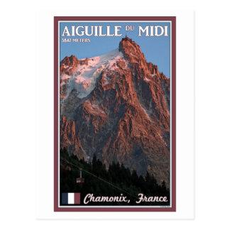 Chamonix - Aiguille du Midi Postcard