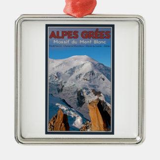 Chamonix - Alpes Grees Christmas Ornaments