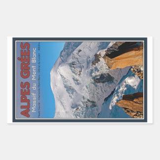Chamonix - Alpes Grees Stickers