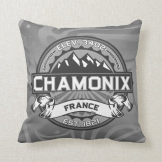 Chamonix Color Logo Cushion