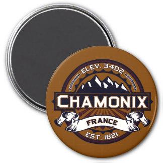 Chamonix Color Logo Magnet