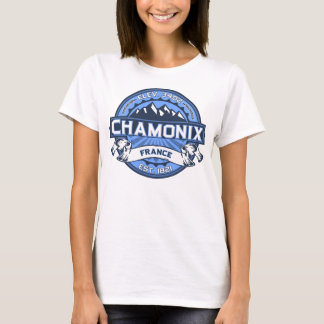 Chamonix France Blue T-Shirt