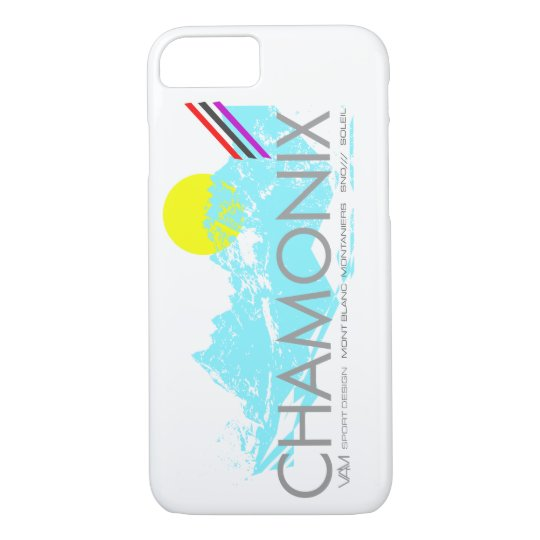Chamonix France iPhone Case - The French Alps