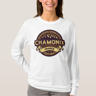 Chamonix France Sepia T-Shirt