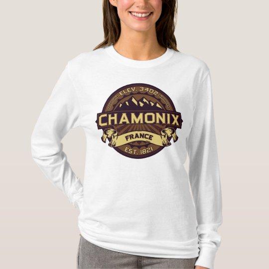 Chamonix France Sepia T-Shirt