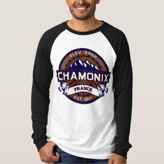 Chamonix France Vibrant Tee Shirt