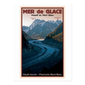 Chamonix - Mer de Glace Postcard