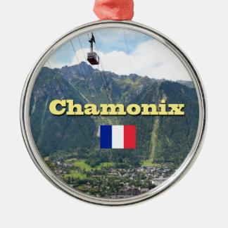 Chamonix - Mont Blanc Christmas Ornament