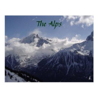 Chamonix-Mont-Blanc Postcard