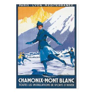 Chamonix-Mont Blanc Post Card