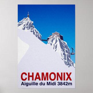 Chamonix Poster