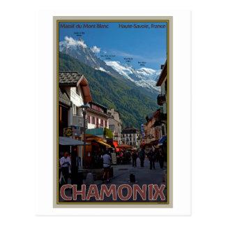 Chamonix Town Postcards