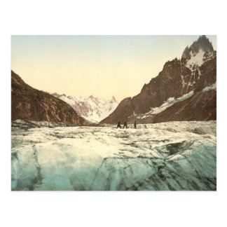 Chamonix Valley - Mer de Glace Postcard
